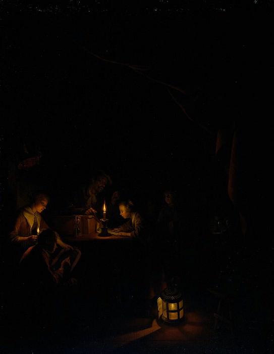 The Night School. Gerrit Dou
