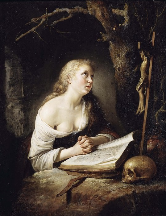 The Penitent Magdalen. Gerrit Dou