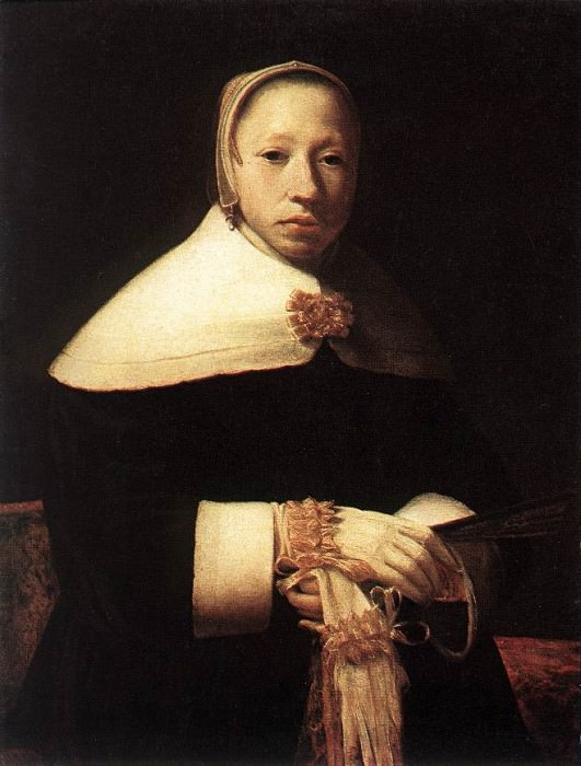 Portrait of a Woman. Gerrit Dou