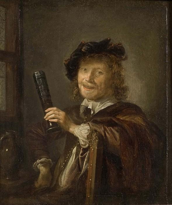 Portrait of a Man, possibly a Self-portrait. Gerrit Dou