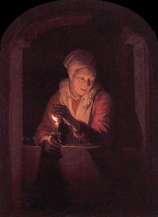 Candle. Gerrit Dou