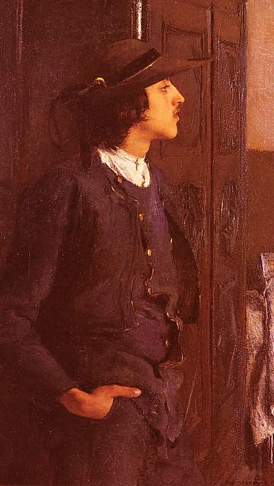 Jeune Homme Breton. Pascal-Adolphe-Jean Dagnan-Bouveret