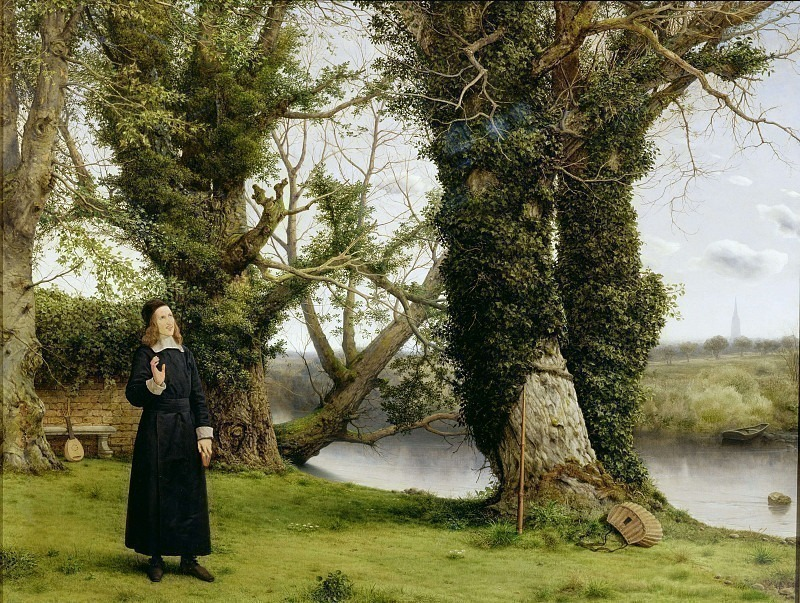 George Herbert at Bemerton. William Dyce