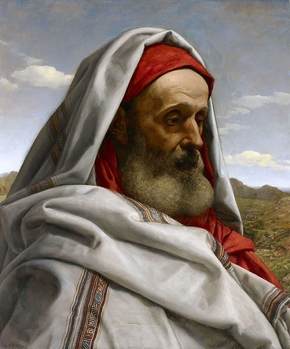 Eliezer of Damascus. William Dyce