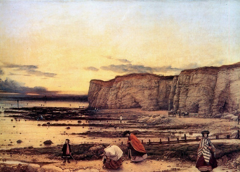 The bay of Pegwell. William Dyce