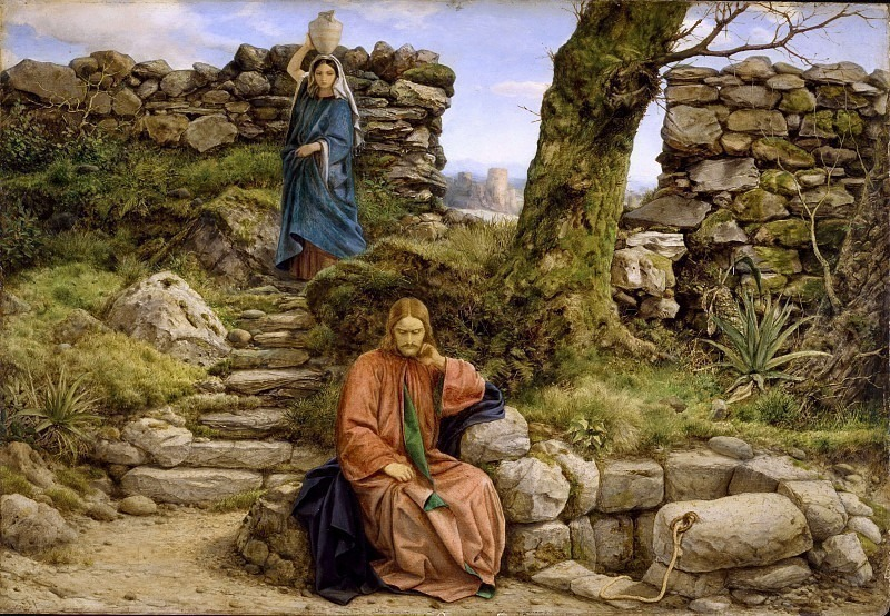The Woman of Samaria. William Dyce