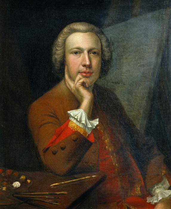 Self Portrait. Arthur William Devis