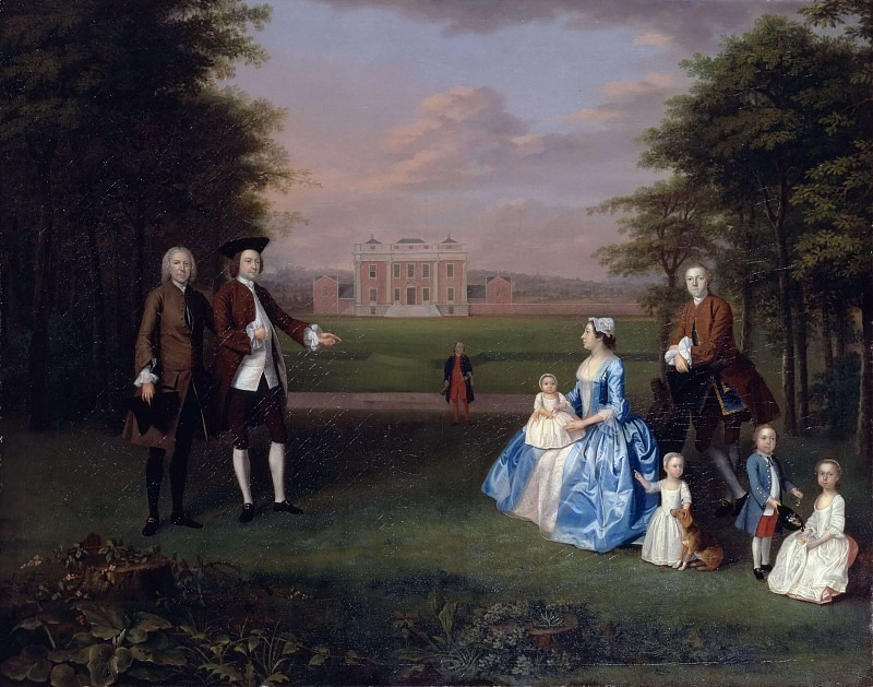 Robert Gwillym of Atherton and His Family. Arthur William Devis
