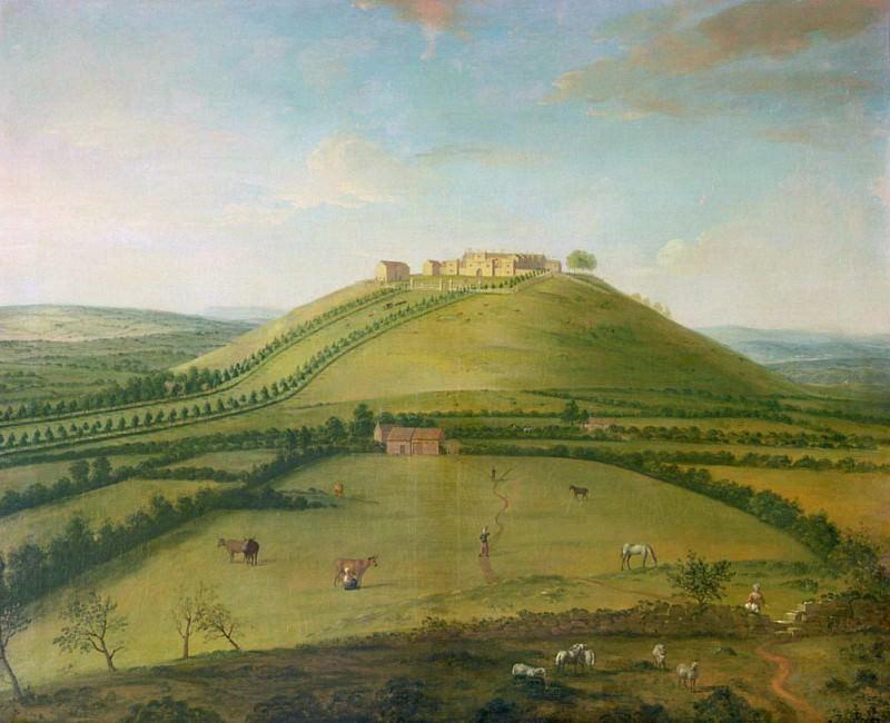 Hoghton Tower. Arthur William Devis