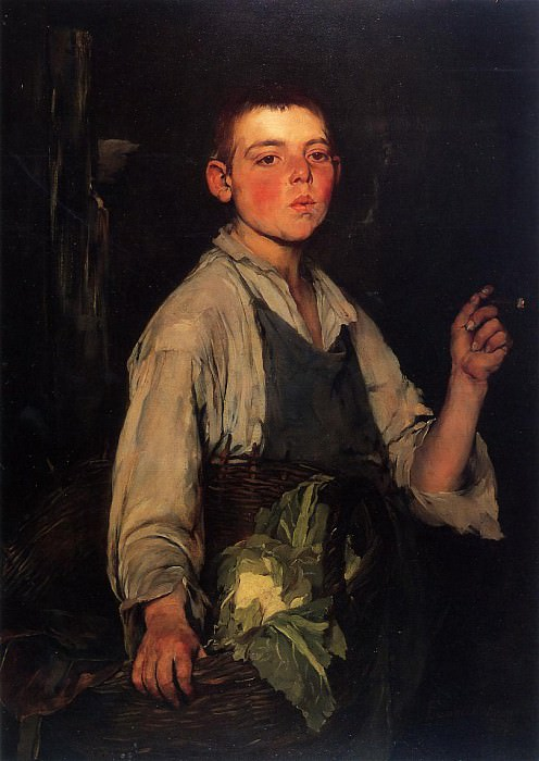 The Cobbler-s Apprentice. Frank Duveneck