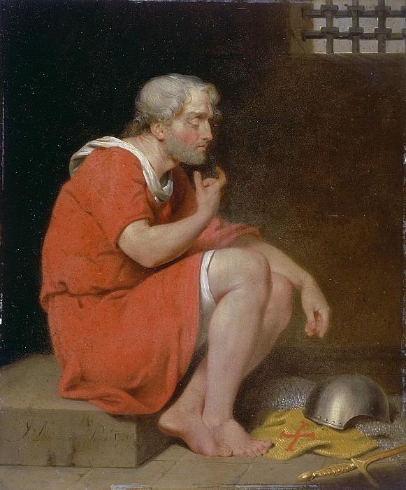Robert (c.1054-1134) Duke of Normandy in Prison. John Downman