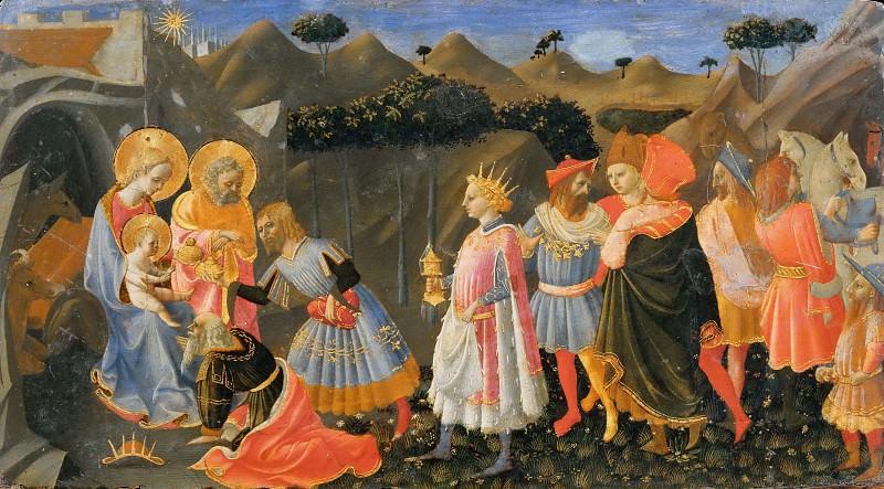 Поклонение волхвов. Доменико ди Микелино