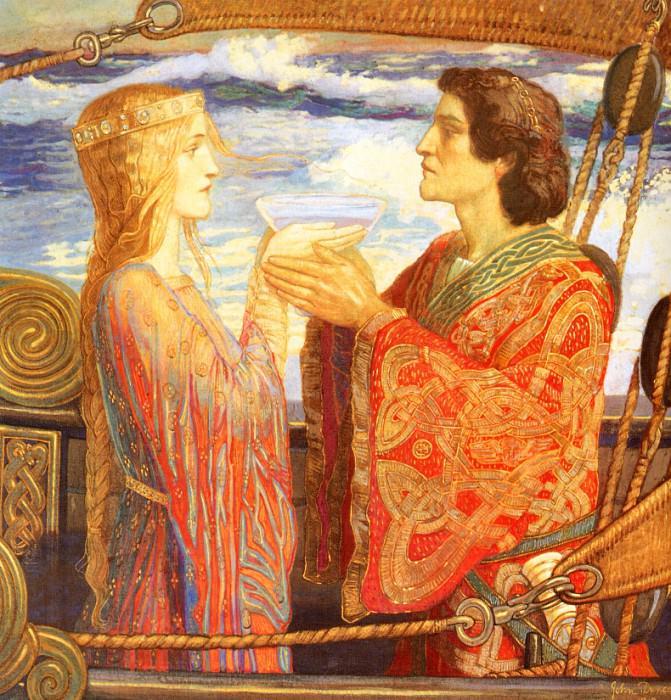Tristan & Isolde. John Duncan