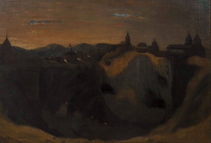 The Mine in Falun. Johan Depken (Attributed)