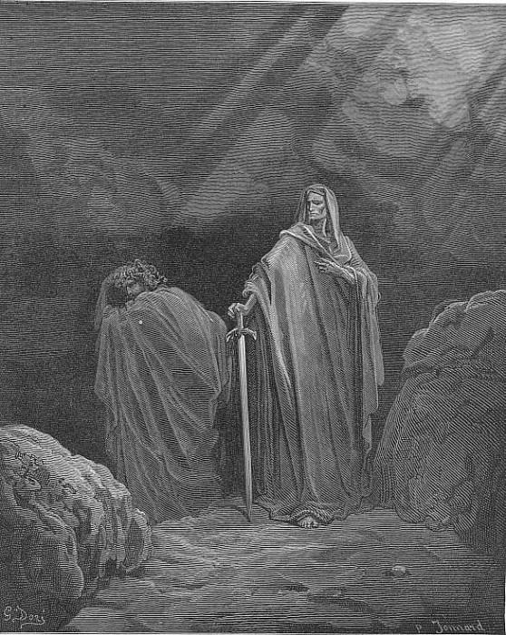This said they both betook them several ways. Gustave Dore
