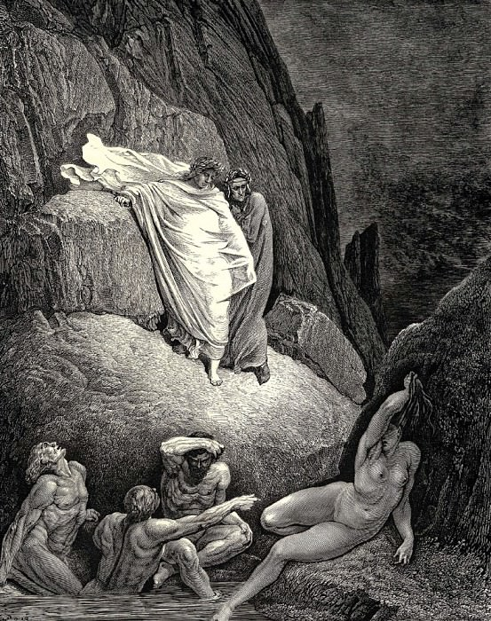 It-s Thais the prostitute who answered at the words of her lover -Don-t you owe me lots of favours- -Oh yes wonderful ones.-. Gustave Dore