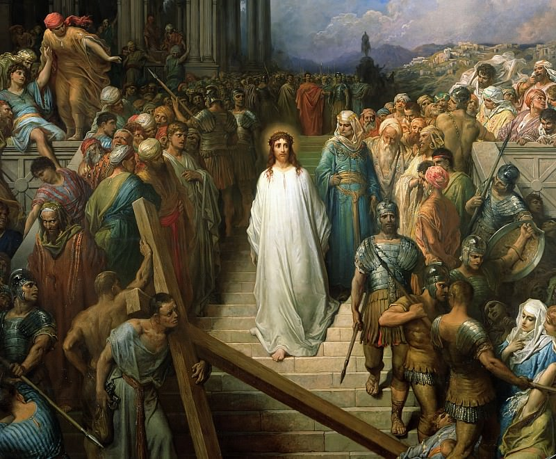 Christ Leaves his Trial. Gustave Dore