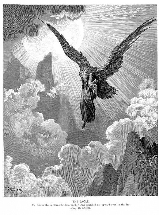 The Eagle. Gustave Dore