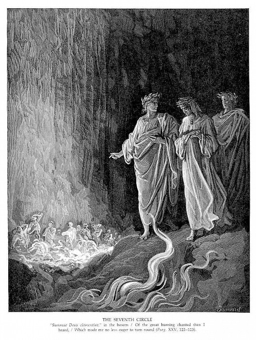 The Seventh Circle. Gustave Dore