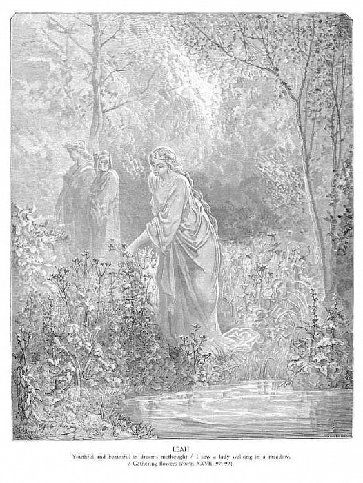 LEAH. Gustave Dore