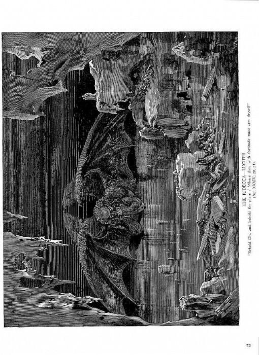 The Judecca Lucifer. Gustave Dore