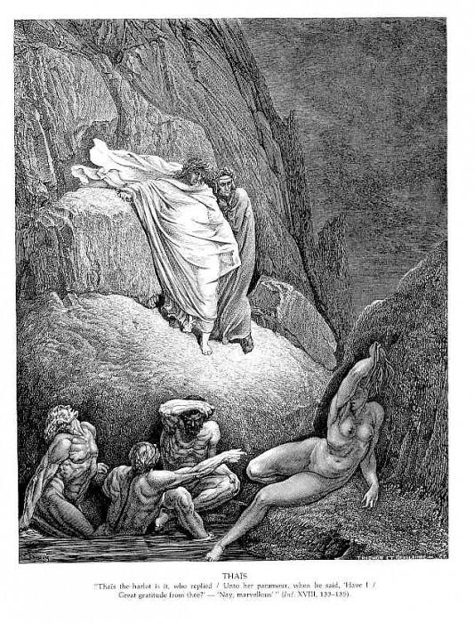 Thais. Gustave Dore