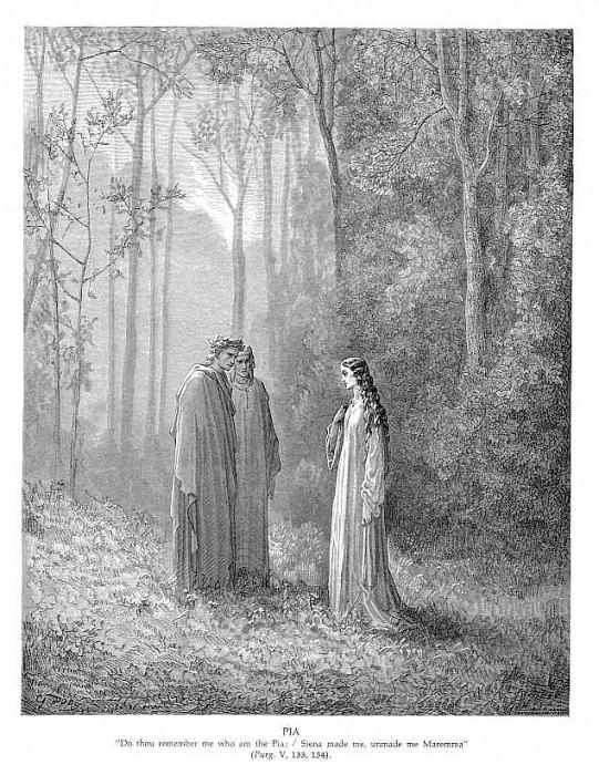 Pia. Gustave Dore
