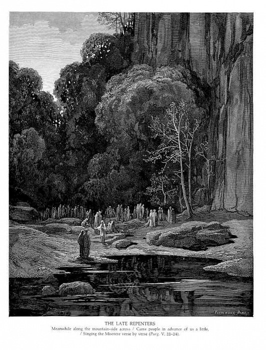 The Late Repenters. Gustave Dore