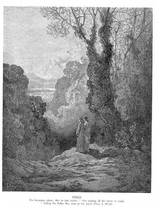 Venus. Gustave Dore