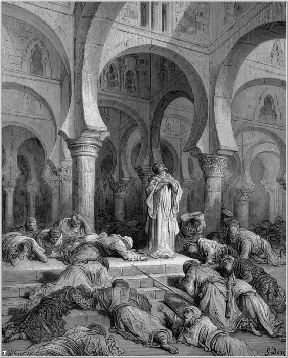 crusades invocation to muhammad. Gustave Dore