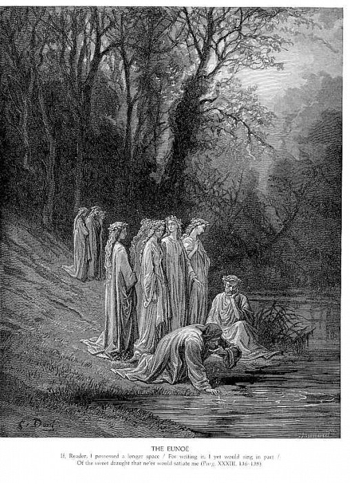 The Eunoe. Gustave Dore