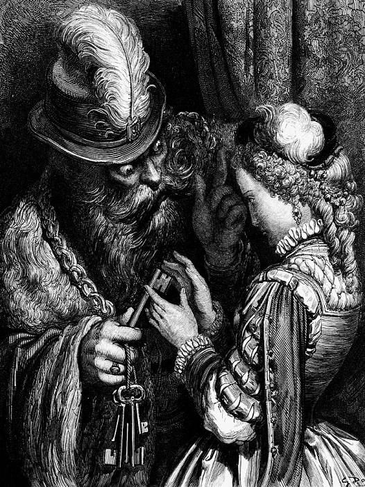 IfYouWereToOpenTheDoorIShouldBeVeryAngry. Gustave Dore