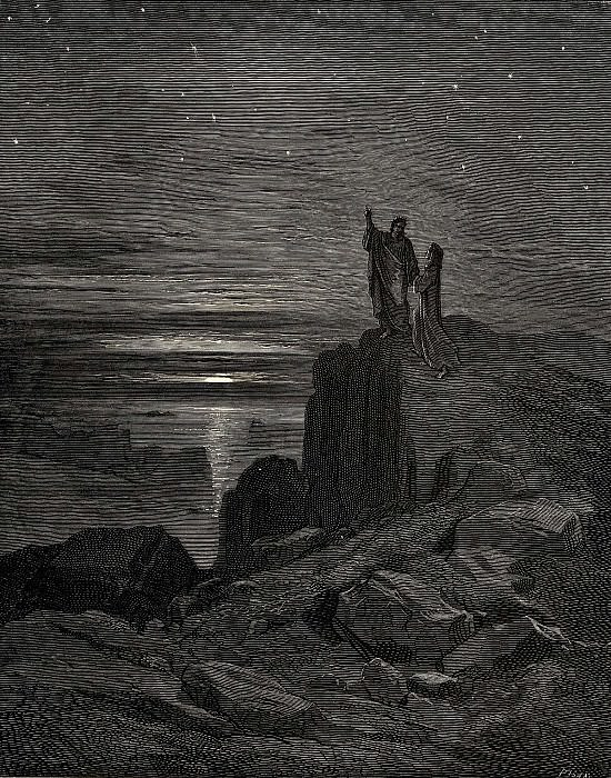 We came out and here we could again see the stars. Gustave Dore