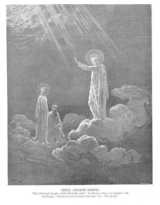 Venus Charles Martel. Gustave Dore