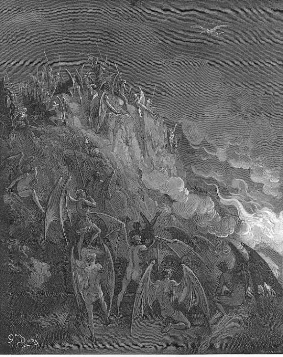 And now expecting Each hour their great adventurer from the search Of foreign worlds. Gustave Dore