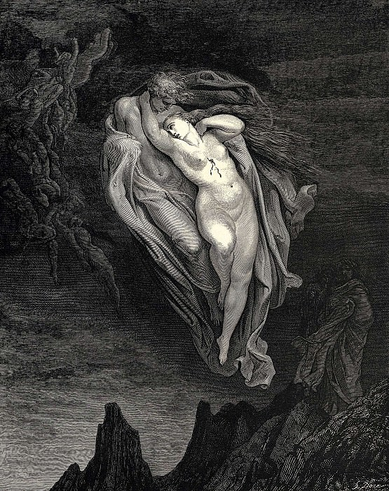 Dore Gustave 15 Bard willingly I would address those two together coming which seem so light befo. Gustave Dore