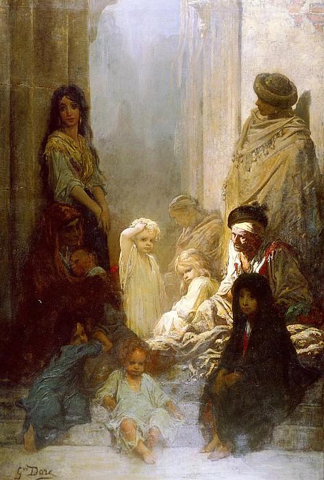 La Siesta. Gustave Dore
