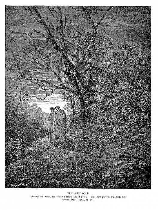 The She Wolf. Gustave Dore