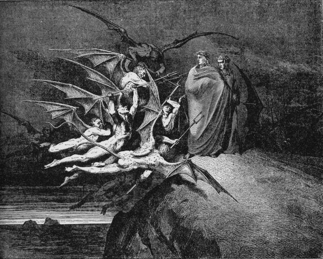 inferno. Gustave Dore