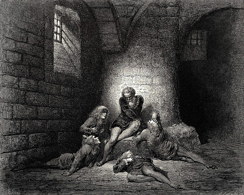 I tried o be very calm to avoid causing any grief. Gustave Dore