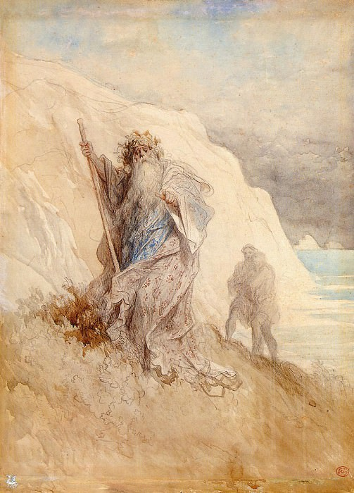 Le Roi Lear. Gustave Dore