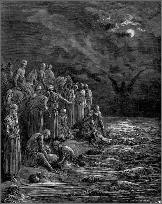 crusades crusaders on the nile. Gustave Dore