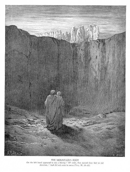 The Mountains Foot. Gustave Dore