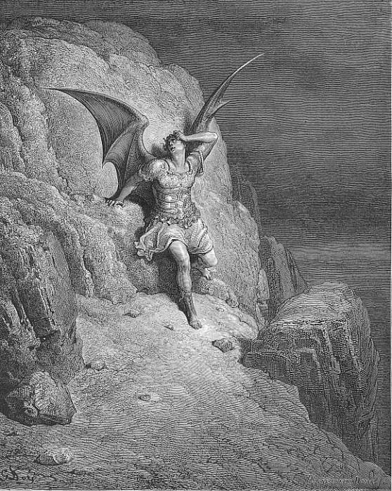 Me miserable which way shall I fly Infinite wrath and infinite despair. Gustave Dore