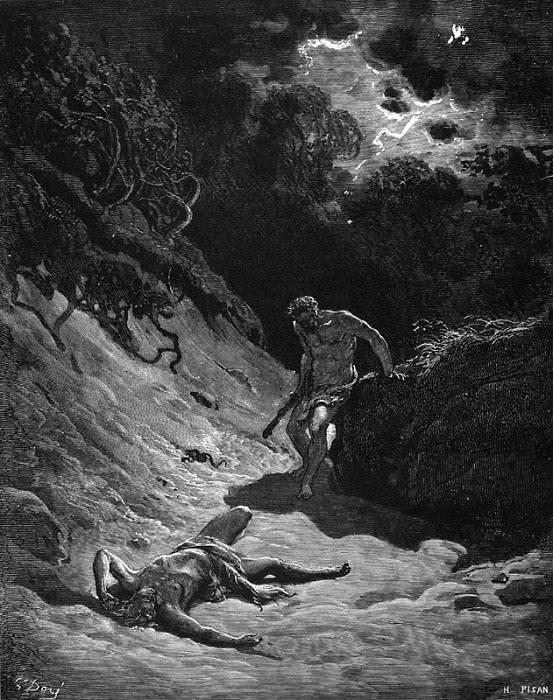 The Death of Abel. Gustave Dore