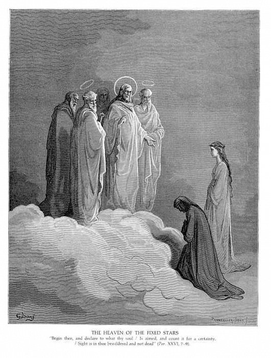 The Heaven of the Fixed Stars. Gustave Dore