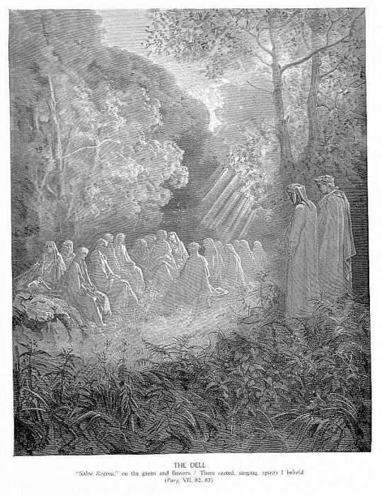 The Dell. Gustave Dore