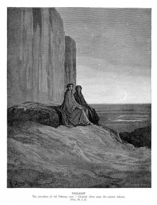 Twilight. Gustave Dore