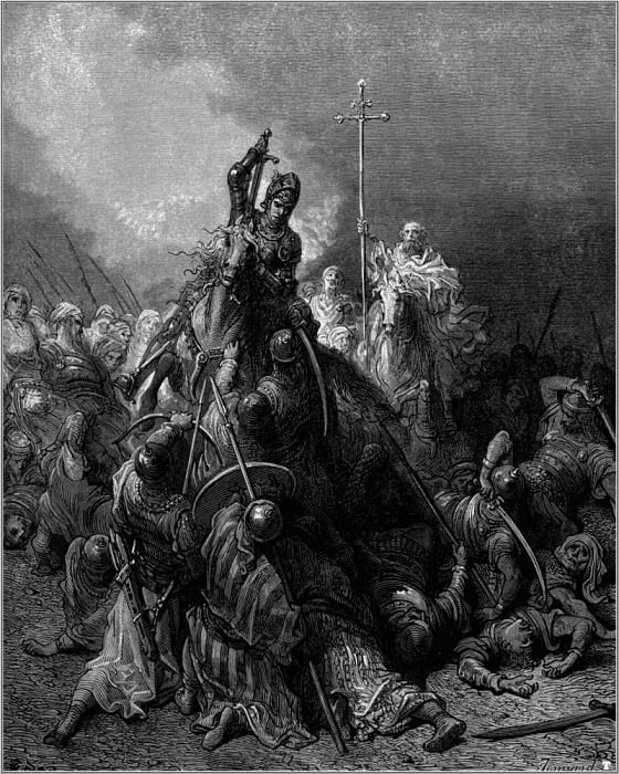 crusades battle of antioch. Gustave Dore