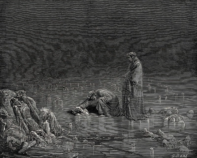 It is now necessary that you say your name or you will be left without one singl. Gustave Dore